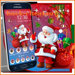 Christmas Wall Launcher Theme Live HD Wallpapers icon