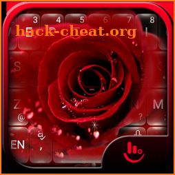 Classic Red Rose Keyboard Theme icon