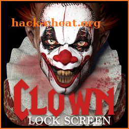 Clown lock screen icon