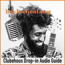 Clubhouse audio guide icon
