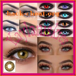 Color Contact Lense Trends icon