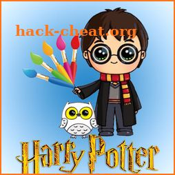 Coloriage Harry Potter -Coloring Book icon
