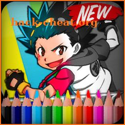 Coloring Beyblade Burst icon