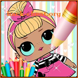 Coloring Book for Dolls Surprise new icon