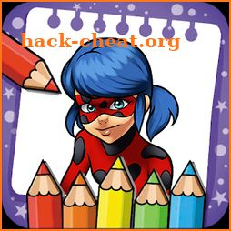Coloring Book for Ladybug Hero icon