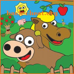 Coloring Farm Animal Coloring Book For Kids Games icon