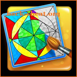 Coloring Puzzle: Glasseria Stained Glass icon