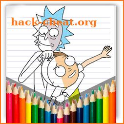 Coloring Rick And Morty Pages icon
