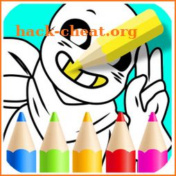 Coloring Sans Book icon