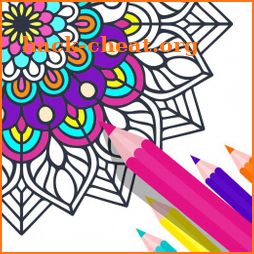 Colorly Coloring Book Paint Pages icon