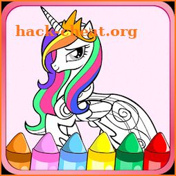 Colouring Book for Little Pony icon
