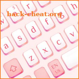 Cool Pink Gold Keyboard icon