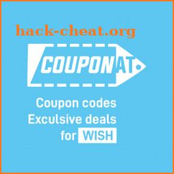 Coupons for Wish discount promo codes by Couponat icon