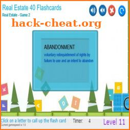 CramFLASH Real Estate Agent Exams Flashcard App icon