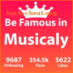 Crown For Musically Famouser fast followers icon