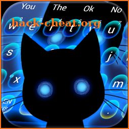 Curious Stalker Cat Keyboard Theme icon