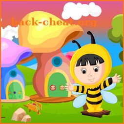 Cute Bee Girl Rescue Kavi Game-378 icon