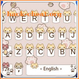 Cute Cat Paw Keyboard Theme icon