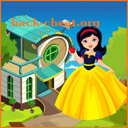 Cute Little Angel Rescue Kavi Escape Game-320 icon