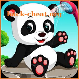 Cute Panda Cleanup Salon: Panda Wash & Makeup Spa icon