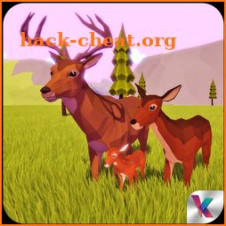 Deer Simulator Fantasy Jungle icon