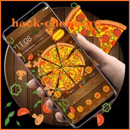 Delicious Pizza Gravity Theme icon