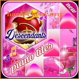 DESCENDANTS PIANO TILE new 2018 icon