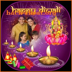Diwali Multi Photo Frames icon