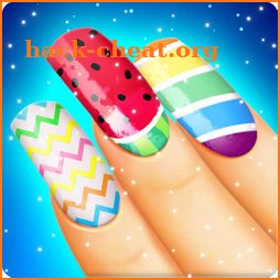 Doll Nail makeup : Fashion Girl games 2020 icon