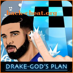 Drake - Gods Plan Piano Tiles 2 icon