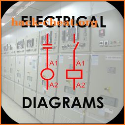 Electrical diagrams icon