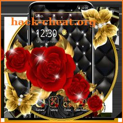 Elegant Luxurious Red Rose Theme🌹 icon