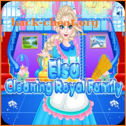 Elsas Clean Up - Dress up games for girls/kids icon