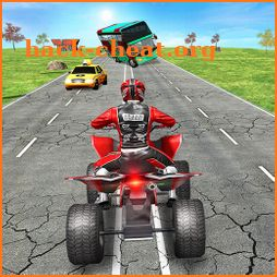 Endless Quad Bike Racing - ATV Traffic Simulator icon