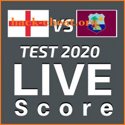ENG vs WI Live Score 2020 - Test Match Scorecard icon