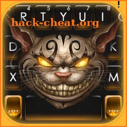 Evil Angry Cat Keyboard Theme icon
