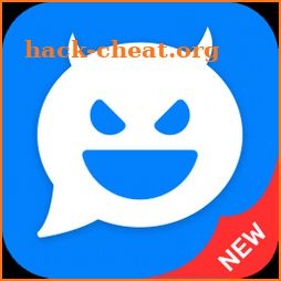 Fake messenger: funny fake chat, fake video call icon