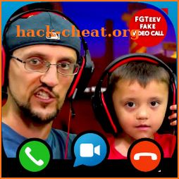 Fake Video Call & Chat For FGTeev icon