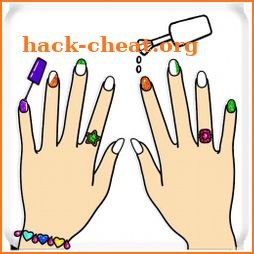 Fashion Nail Coloring Pages For Girls icon