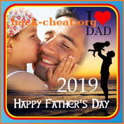 Father's Day Photo Frame 2019 icon