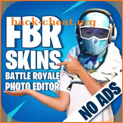 FBR Skins - Battle Royale Photo Editor icon