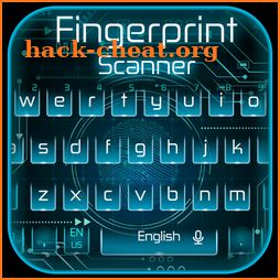 Fingerprint Scanner Keyboard Theme icon