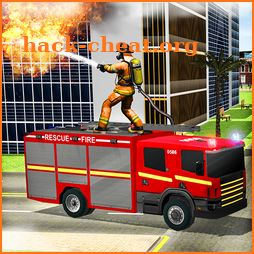 Fire Truck Simulator: Emergency Rescue Code 3D icon