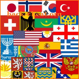 Flags of the World & Emblems of Countries: Quiz icon