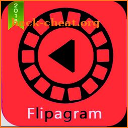 Flipagram photostory maker with music icon