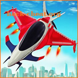 Flying Ambulance Air Jet Transform Robot Games icon