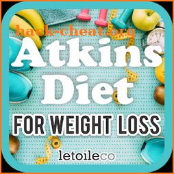 Free Atkins Diet for Weight & Fat Loss icon