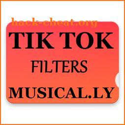 Free Tiktok Filters And Transactions - Musically icon