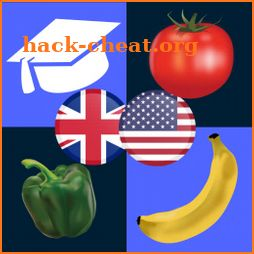 Fruits and Vegetables vocabulary icon