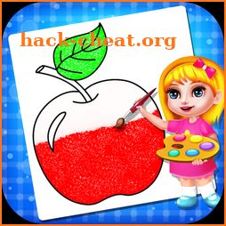 Fruits Coloring Book & Drawing Book For Kids icon